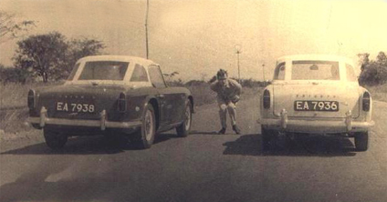 TR4s in Kitwe