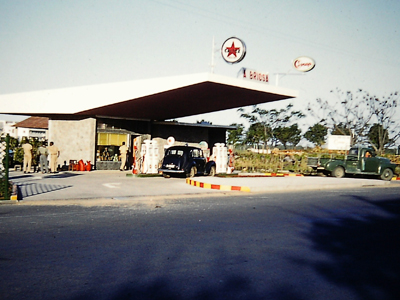 Filling Station on way to                       Beira
