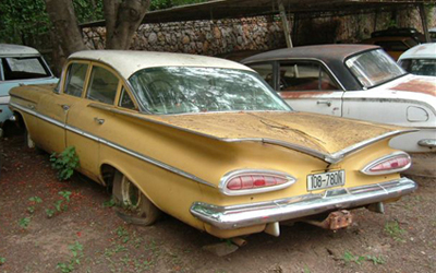 55 Chevy Wagon For Sale Classic Cars in Rhodesia